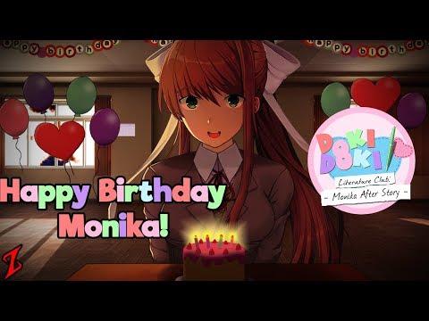 Monika's Birthday! | DDLC Monika After Story