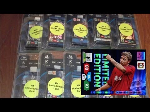 Stefan Kießling Limited Edition BLISTER PACK panini ADRENALYN XL CHAMPIONS LEAGUE 2013-14 TCG