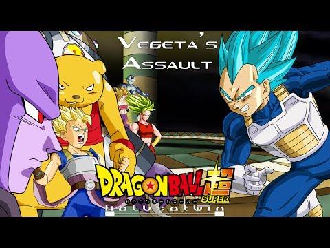 DBS: Vegeta's Assault (Universe 6) - HalusaTwin