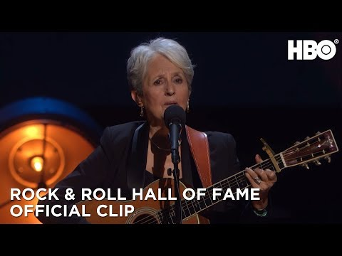 Rock and Roll Hall of Fame Induction Ceremony 2017: Joan Baez Performs with Indigo Girls HBO