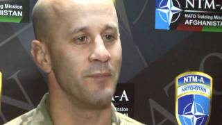 Colonel David Johnson Director of Strategic Communications at Camp Egger in Afghanistan Part 2