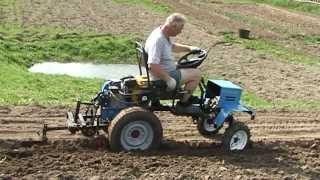 Мини трактор из мотоблока НЕВА - Псковская версия