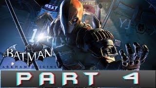 Batman: Arkham Origins Part 4 Deathstroke Gameplay Walkthrough [PC]