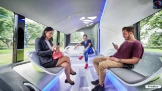 видео Mercedes представил новый беспилотный автобус Future Bus