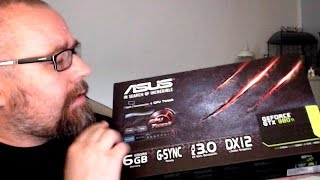 Unboxing GeForce GTX 980Ti plus Batman Arkham Knight