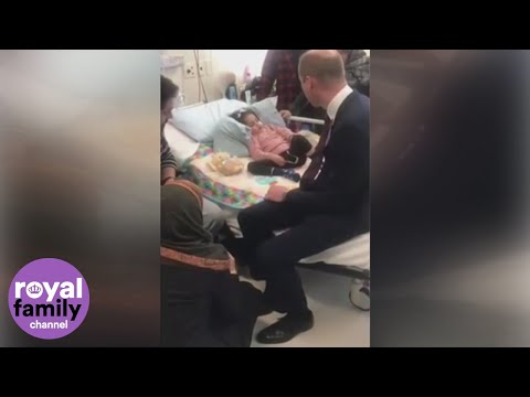 Duke of Cambridge shares sweet moment with 5-year-old Christchurch survivor