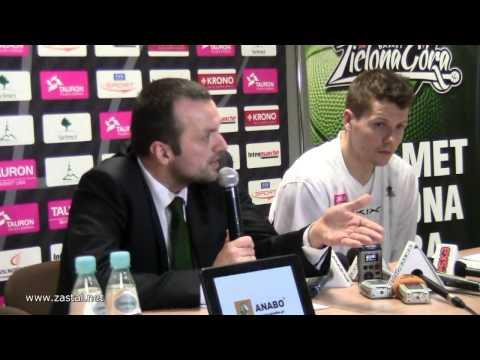 www.zastal.net - Mihailo Uvalin odpowiada na pytania po meczu z Treflem