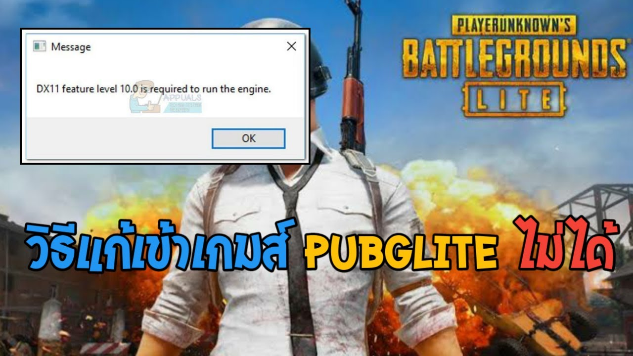 dx11 feature level 10.0 download pubg lite