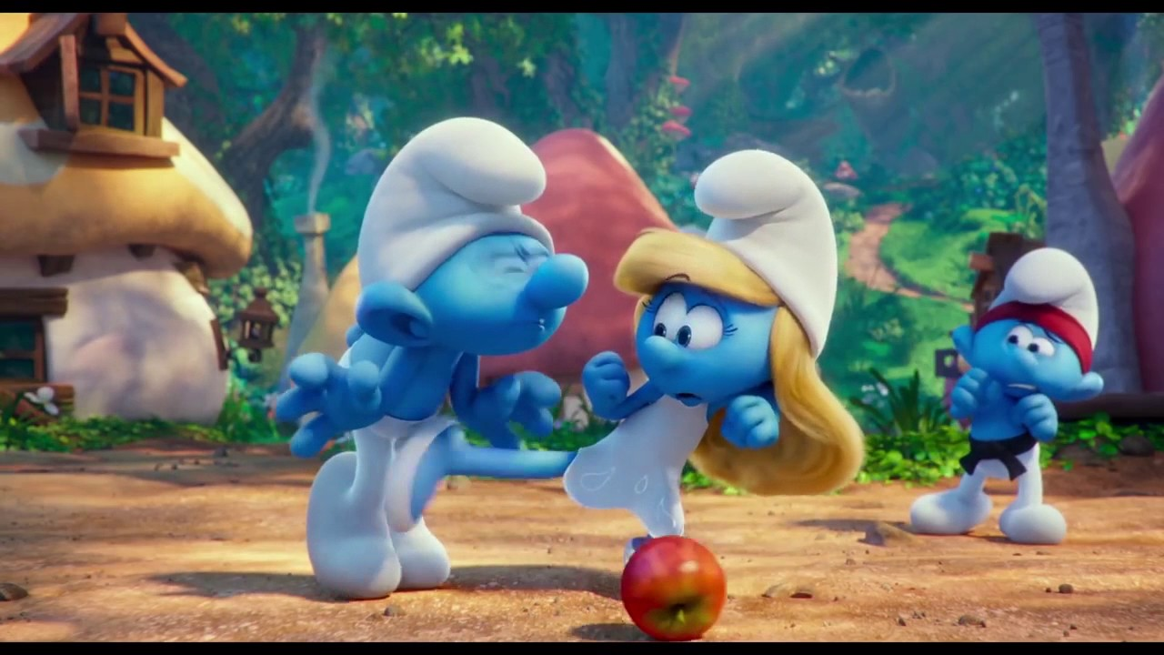 Yarn   (GASPS) Im not a real Smurf. ~ Smurfs: The Lost
