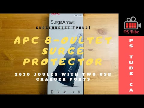 BEST SURGE PROTECTOR 2019 | APC 8-Oultet Surge Protector |