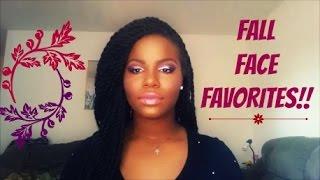 FALL FAVORITES FACE EDITION!! Thumbnail