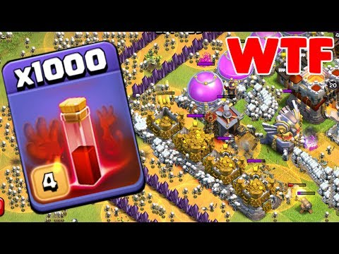 Thumbnail: 1000 Skeleton Spell Incredible Attack On COC | Modded Apps Game Play
