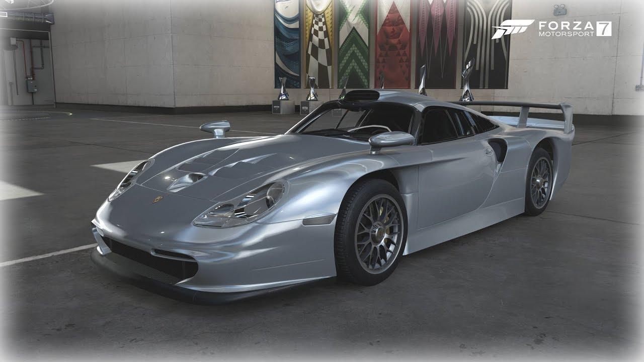 forza motorsport 7 1998 porsche 911 gt1 strassenversion. Black Bedroom Furniture Sets. Home Design Ideas