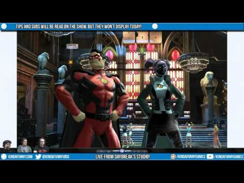 Kinda Funny Games Plays DCUO: 5th Anniversary Celebration Stream