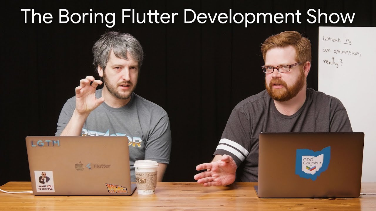 Implicitly animating the Hacker News app (The Boring Flutter Development Show, Ep. 18)
