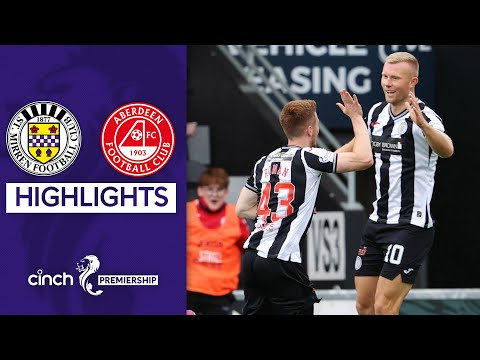 St Mirren Aberdeen Goals And Highlights
