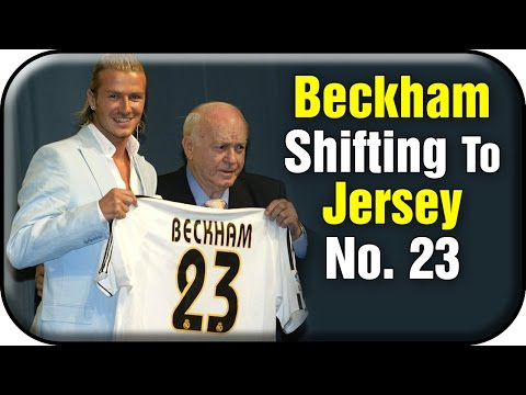 David Beckham Unwrapped | Shifting to Jersey Number 23 | Sports Club