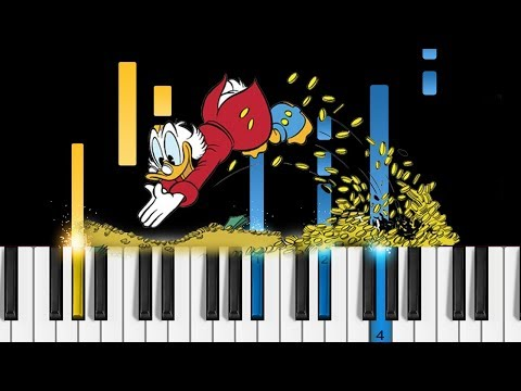 DuckTales - Theme Song - Piano Tutorial