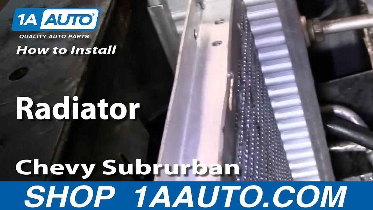 2006 Chevy Trailblazer Fuse Box Diagram How To Replace Radiator 92 01 Chevy Suburban Part 2