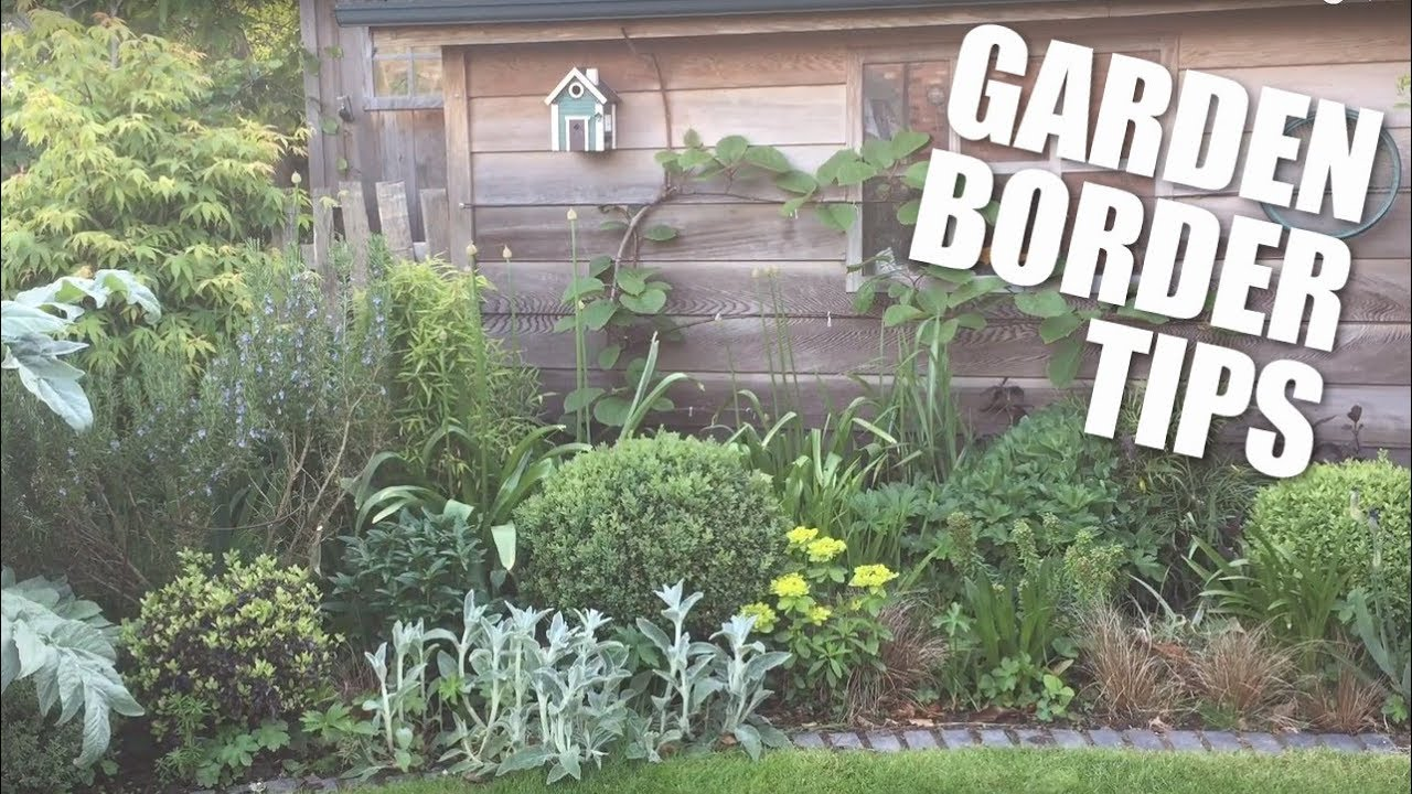 Creating A Garden Border Youtube