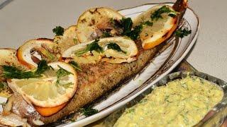 Рыба запеченная в духовке. Домашние рецепты.