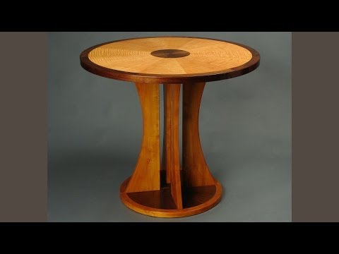 Making a Veneered Occasional Table, Part 3, Banding: Andrew Pitts ~ FurnitureMaker