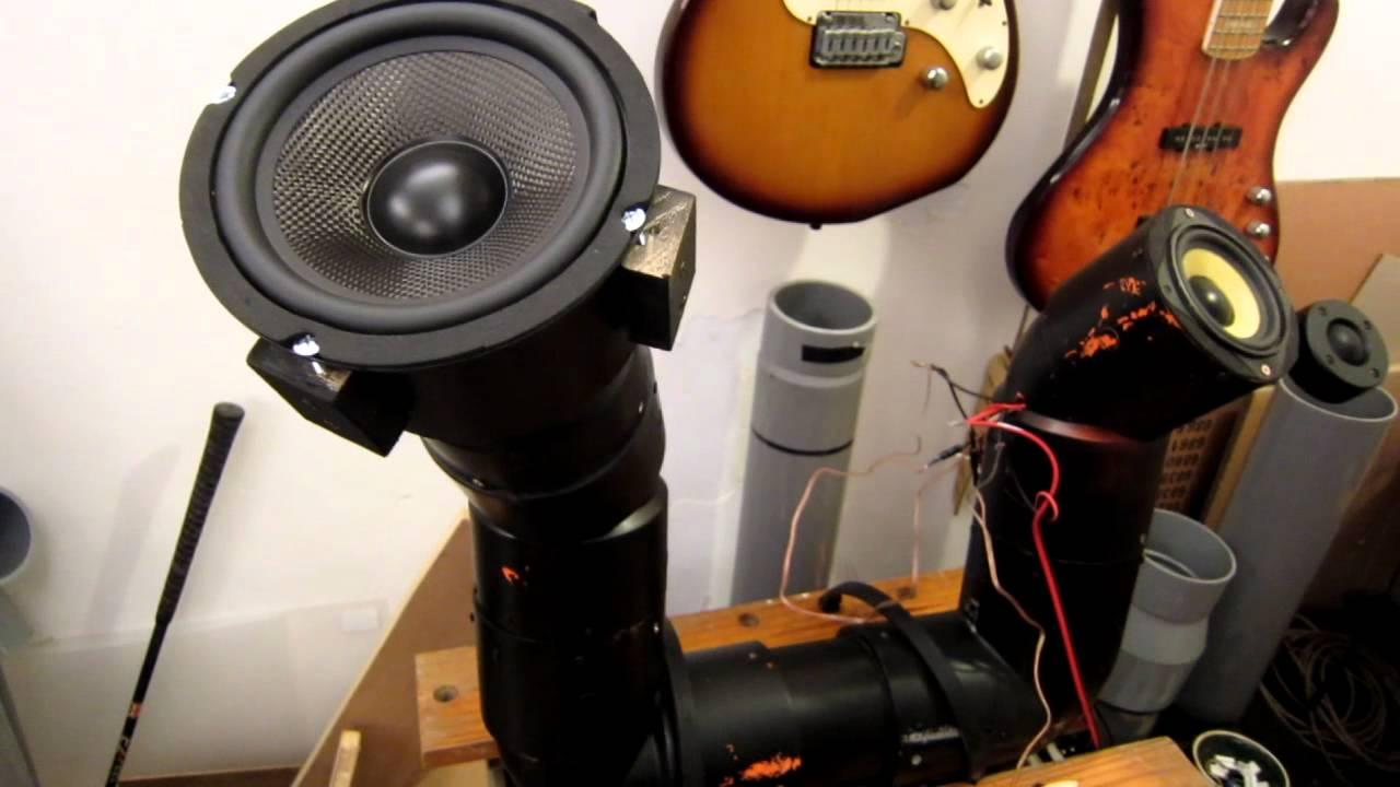 Pvc Sound System : Homemade u tube pvc pipe audio system for honda shadow