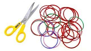 Best craft idea | Diy old bangles reuse idea | DIY arts and crafts | A