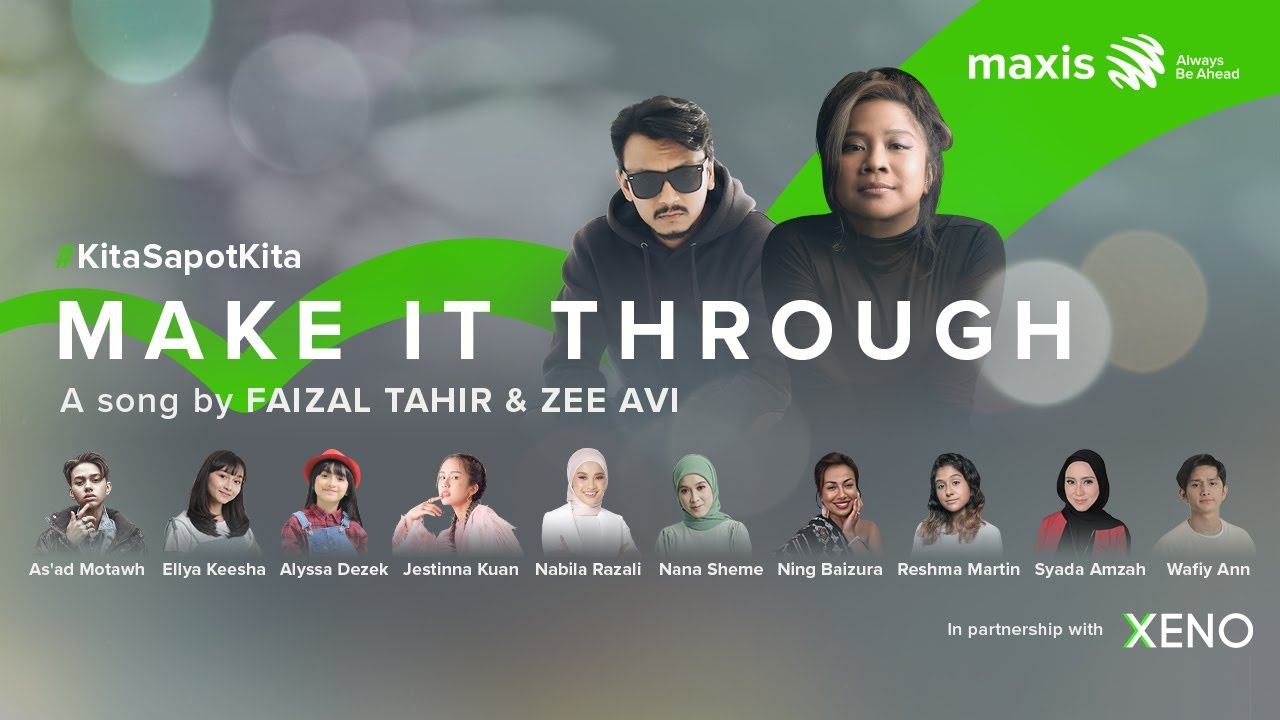 MAXIS launches 'Make It Through' with XENO