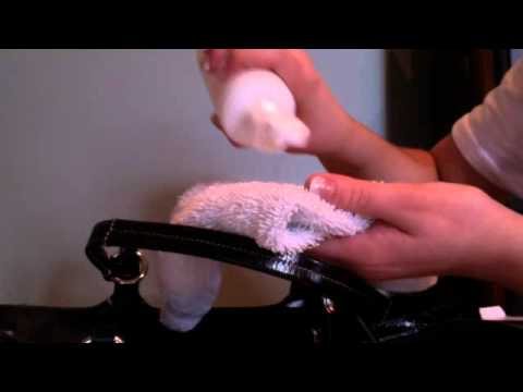 how to clean any stain off of your coach purse with coach fabric cleaner - Coach Cleaner