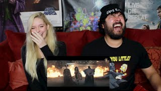BATMAN v SUPERMAN - Dawn of Justice WEIRD TRAILER ENGLISH VERSION REACTION!!!