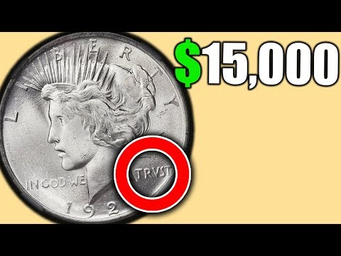 1923 PEACE DOLLAR COINS WORTH A LOT OF MONEY!! SILVER DOLLAR COIN ERRORS