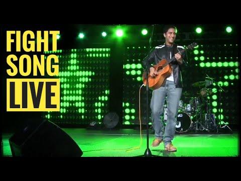 "Raef - ""Fight Song"" Rachel Platten Cover - Live ISNA 2017"