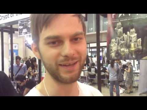 "Visiontrick Media: ""Pavilion"" - Indie Game Developer Interview - Tokyo Game Show 2013, TGS"