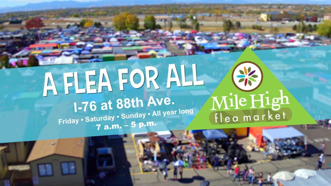 Mille High Flea Market 15 Seconds