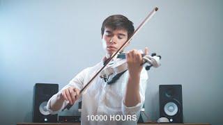 Dan + Shay, Justin Bieber - 10000 Hours - Cover (Violin)