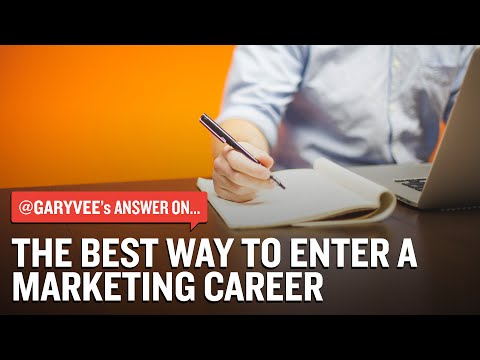 The Best Way To Enter A Marketing Career