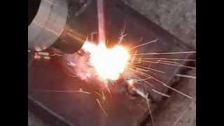 Первый раз. Плазменная сварка.(Пробуем варить плазмой. Вывод - лучше плазмой только резать., 2012-05-10T18:41:24.000Z)