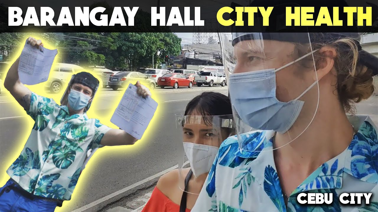 VISIT TO BARANGAY HALL & CITY HEALTH - Start of NEW PHILIPPINES Life!