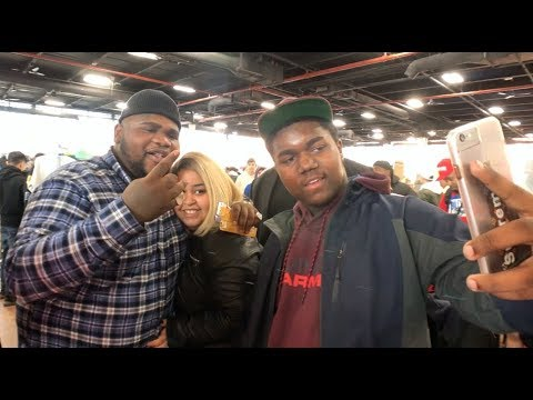 VLOG SHOT ON THE IPHONE 8: SOLE EXCHANGE BROOKLYN + FAT BOY SSE SHOWS LOVE TO MEEK MILL
