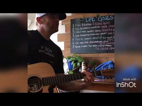 Crazy Love Van Morrison / Brian McKnight / Michael Buble (Acoustic) Live Cover By Derek Cate