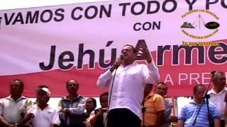 Respaldo total para que Jehú Armenta sea el candidato a alcalde del PRI en Juchique de Ferrer.