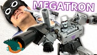 One of JobbytheHong's most viewed videos: Megatron MP-36 Transformers Masterpiece Review
