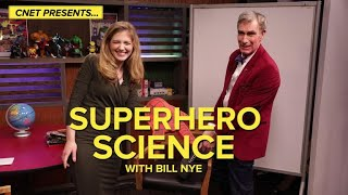 Superhero science with Bill Nye