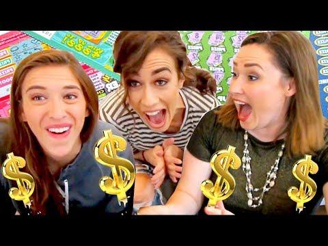 WINNING TONS OF MONEY ON LOTTERY TICKETS! $$$