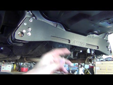 ASR Rear Subframe Brace Install - How to