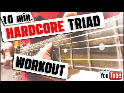 10 Minute Hardcore Triad Workout [MAJOR & MINOR]