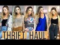 THRIFT STORE CLOTHING HAUL 2019