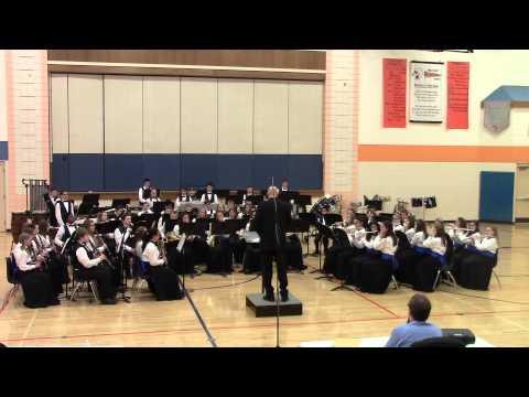 Hannah Beardsley Middle School - Symphonic Band - State Contest - April 24, 2015