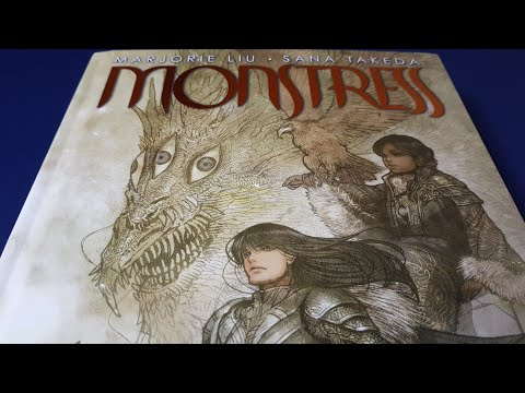 Monstress (Deluxe Edition, Book One) - Beautiful Graphic Novel